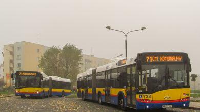Solarisy Urbino III 18 na linii 71