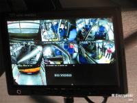 Monitor z podglądem z kamer