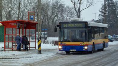 Linia 34 w Rogozinie ul. Mazowiecka