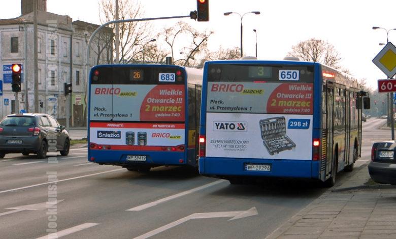 Photo of Prawie połowa autobusów z reklamą