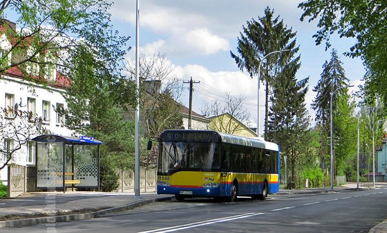 """Nowa lokalizacja przystanku """"Borowiczki, park 03"""", któremu zmieniono numer na 01"""