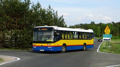 Mercedes #664 na objeździe (linia nr 18)