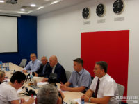 Konferencja w siedzibie KM Płock