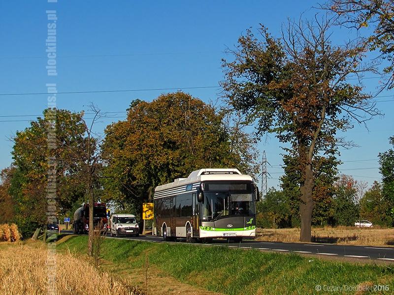 Elektryczny Solaris w drodze do Płocka