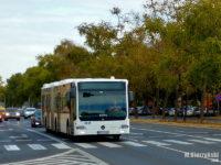 Mercedes Conecto G w drodze do płockiej zajezdni