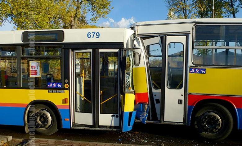 Photo of Zderzenie dwóch autobusów