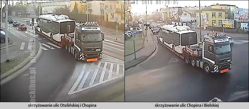Ursus na lawecie w drodze do zajezdni KM-Płock (źródło: KorkoNET)