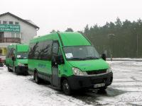 Busy komunikacji zastępczej po terenie gminy Słupno