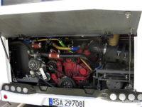 Testowy Autosan SanCity 9LE - widok na silnik