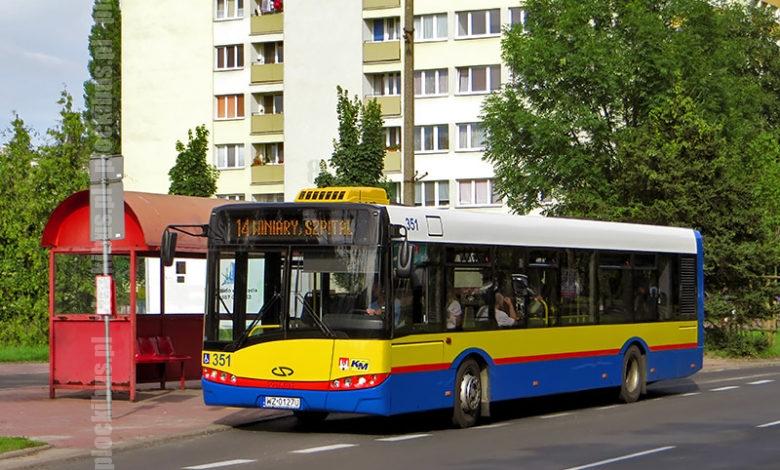 Photo of Autobus zastępczy w płockich barwach