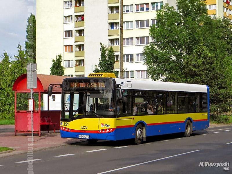 Zastępczy Solaris Urbino III 12 #351