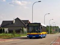 Linia 130 na ul. Wiejskiej w Słupnie