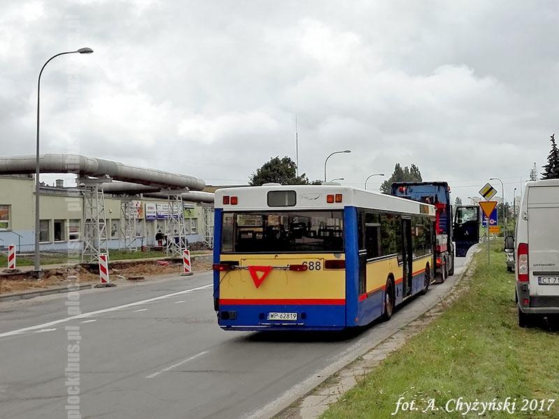 Gräf & Stift NL222 #688 w drodze na złomowisko