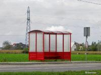 """Nowa wiata na przystanku """"Naftobudowa"""""""