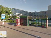 Wiata na dzisiejszym przystanku Jachowicza teatr 05 (źródło: Mapy Google, czerwiec 2013)