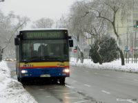 Niedzielny kurs linii nr 130 z centrum Płocka