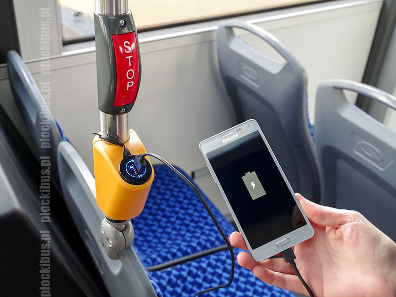 Jedna z trzech ładowarek USB (foto: KM Płock)