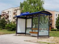 Nowa wiata na przystanku św. Wojciecha 01
