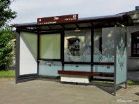 Nowa wiata w strefie zabytkowej miasta, na przystanku Zoo 02