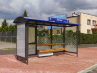 Nowa wiata na przystanku Otolińska