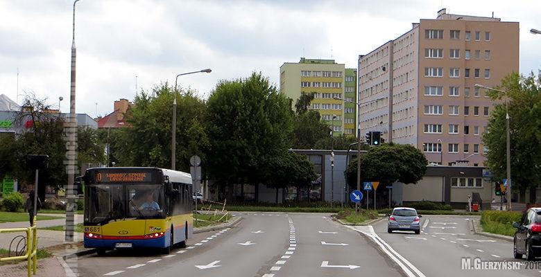 Photo of Zamknięte skrzyżowanie ul. Łukasiewicza z ul. Tysiąclecia