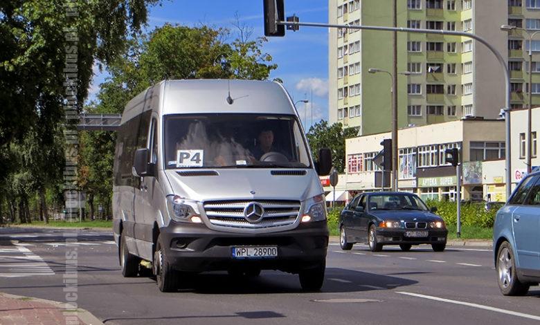 Photo of Linia P-4 | Mercedes-Benz Sprinter 516 BlueTec (WPL 28900)