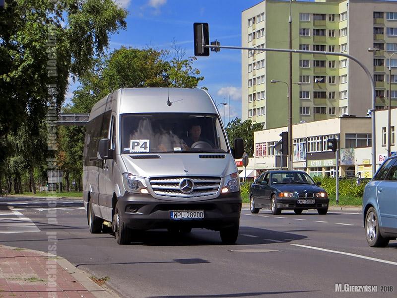 Mercedes-Benz Sprinter na linii P-4