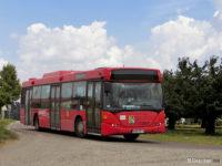 Ten sam autobus (który obsługuje linię 115) obsługuje nową linię S-2 do Barcikowa