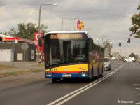 Solaris Urbino IV 18 Hybrid #773 podczas jednego z kursów ulicami Płocka