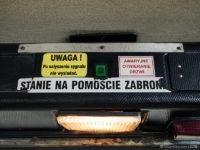 Oświetlenie stopni wejściowych po otwarciu drzwi
