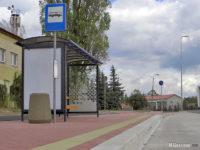 Nowa wiata na przystanku Kostrogaj, zajezdnia 01