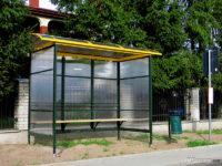 Nowa wiata przystankowa w Mirosławiu