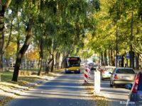 Roboty drogowe w Al. Kobylińskiego