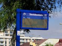 Tablica DIP na przystanku Stanisławówka 01