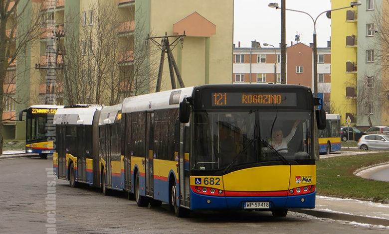 Linia 121 na pętli Podolszyce