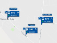 Opóźnienia na liniach podmiejskich (źródło: aplikacja myBus)