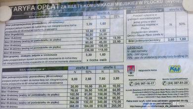 Photo of Od 1 maja droższe bilety