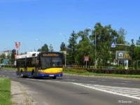 Linia 43 na trasie objazdowej w al. Piłsudskiego