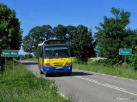Kapena na linii L2 na granicy miejscowości Piączyn i Nowa Wieś