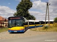 Autobusy linii x7 na pętli w Górkach