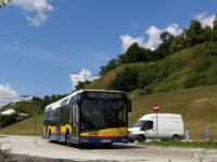 Autobus linii 44 na przebudowanej ul. Rybaki