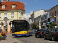 Autobus linii 44 na skrzyżowaniu ul. Kościuszki i pl. Narutowicza