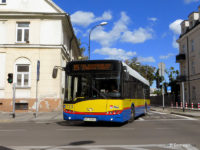 Autobus linii 15 na skrzyżowaniu ul. Sienkiewicza i 1 Maja