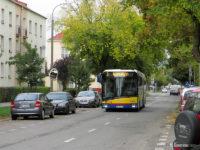 Autobus linii nr 3 na ul. Obrońców Westerplatte