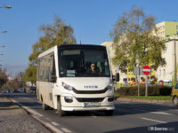 Iveco Daily 70C Feniksbus (WPL 53233) na linii P-4