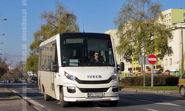 Photo of Linia P-4 | Iveco Daily 70C Feniksbus (WPL 53233)