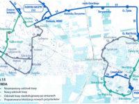 Planowana trasa linii nr 15