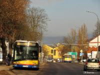 Autobusy linii 20 w al. Kilińskiego