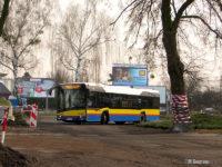 Przejazd przez dotychczasową wyspę u zbiegu al. Kilińskiego i ul. Warszawskiej