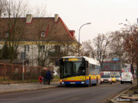 Przystanek zastępczy przy ul. Warszawskiej (w stronę centrum)
